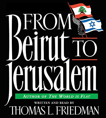 From Beirut to Jerusalem audiobook cover art