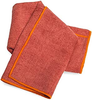 YogaRat Cush Yoga Hand Towel - Ultra-Thick Microfiber Hot Yoga Hand Towels - 600 gsm Ultra Thick for Bikram  - 16 x 25 inches