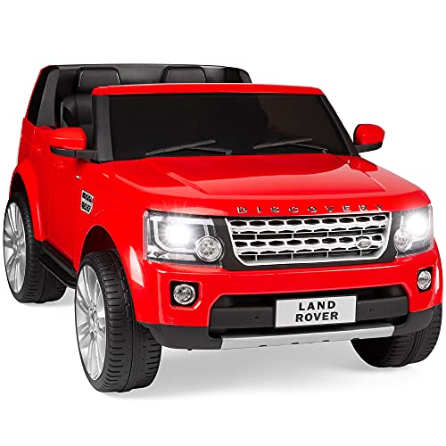 Best Choice Products 12V 3.7 MPH 2-Seater Licensed Land Rover Ride On Car Toy w/ Parent Remote Control, MP3 Player - Red