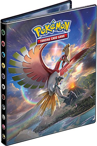 Ultra Pro 4-Pocket Portfolio Pokemon Sun Moon Ho-Oh & Marshadow SM3
