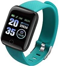 UIEMMY slim horloge Bluetooth Smart Horloge Mannen Bloeddruk Smartwatch Vrouwen Horloge Sport Tracker WhatsApp Smart Clock...