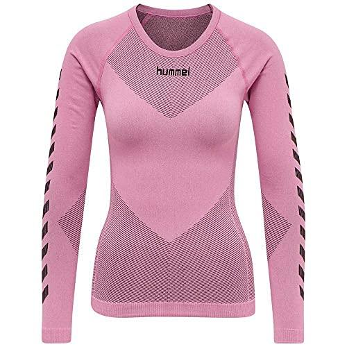 Hummel First Seamless Longsleeve Damen Pink F3257