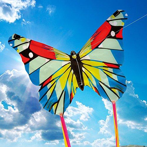 Brookite 3316 Mini cerf-Volant Papillon Multicolore