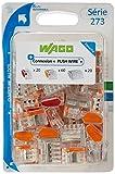 Wago WAG273/PAN100 - Lote de enchufes para conexión (100 unidades: 20 x 2 entradas, 60 x 3 entradas y 20 x 5 entradas)
