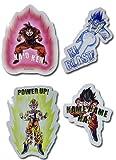 Calcomanía – Dragon Ball Z – Nuevo Goku Attack Set Juguete con Licencia ge55429