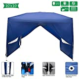 Best Canopy Tents - Goujxcy 10x10 Ft Pop up Canopy,Outdoor Waterproof Party Review
