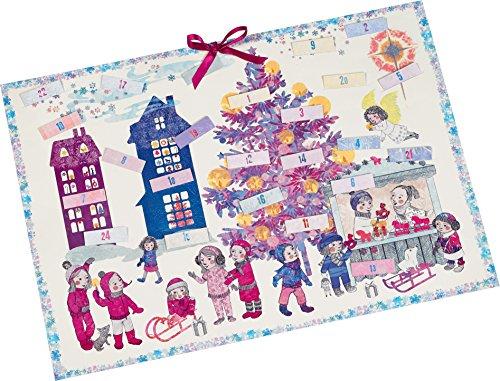 Wir feiern durch den Advent Adventskalender: Mit 24 Einsteckzettelchen mit Bastelanregungen, Rezepten und Liedern