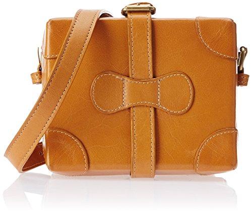 Hidesign Small Boxy Women's Sling Bag (Honey)