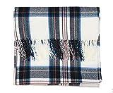 J.Crew Mercantile Women's Plaid Blanket Scarf (Ivory/Multi)