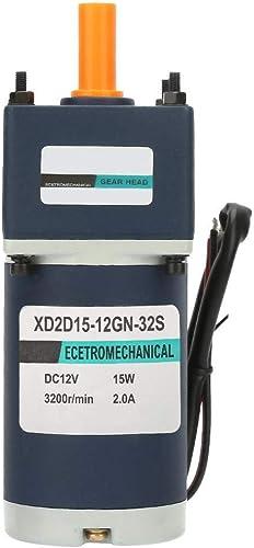 Réducteur de vitesse réglable, moteur adapté à réduction de CC 12V 15W à aihommet perhommeent électrique(1067RPM)