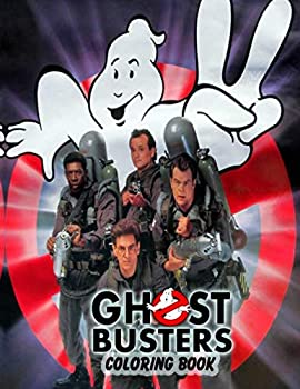 Ghostbusters Coloring Book, Paperback (110 pages) with over 50 illustrations based on the 80s movie