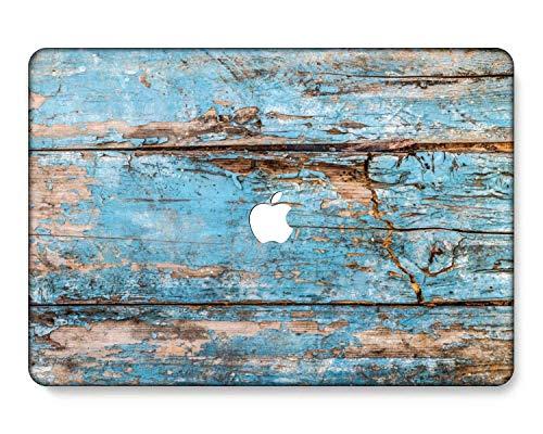 GangdaoCase Carcasa rígida de plástico ultra delgada para MacBook Pro de 13 pulgadas con/sin barra táctil/Touch ID A2338 M1/A2289/A2251/A2159/A1989/A1706/A1708 (grano de madera A 67)