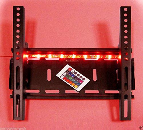 Support avec bandes LED Bluetooth +/-15 ° Convient pour TV et moniteur jusqu'à 127 cm Diagonale (50 \