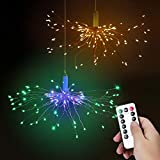 Navidad Luces Hadas Luces Fuegos Artificiales LED, Bawoo String Light 2 Kit 120 luces LED...