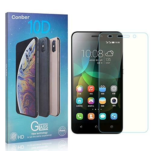 Conber [1 Stück] Bildschirmschutzfolie kompatibel mit Huawei Honor 4C, Panzerglas Schutzfolie für Huawei Honor 4C [9H Festigkeit][Hüllenfre&lich]
