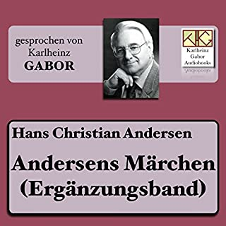 Andersens Märchen (Ergänzungsband) Titelbild