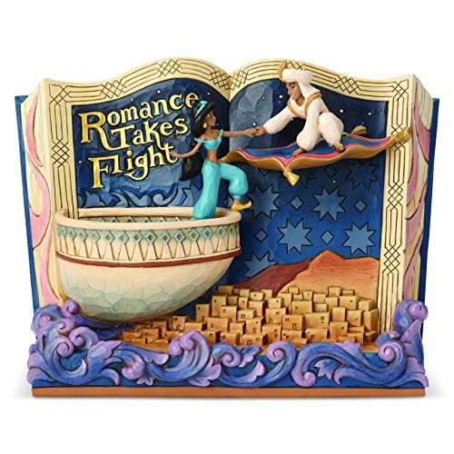 Disney Tradition - 6001270 - Storybook Aladdin 'Romance Takes Flight' Jim Shore's
