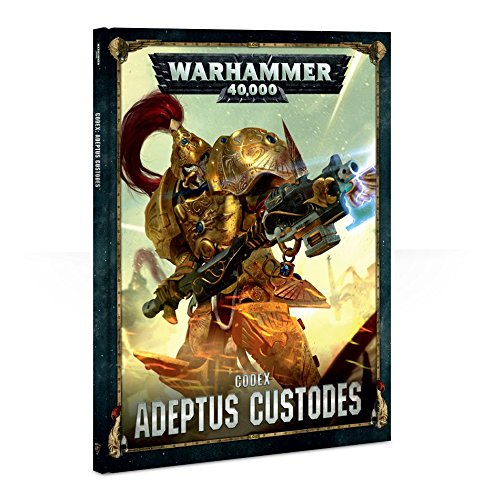 Games Workshop Warhammer 40k - Codex V.8 Adeptus Custodias (FR)