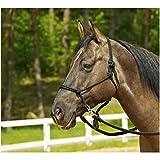 Busse Knotenhalfter Ringe, Pony/Vollblut, schwarz