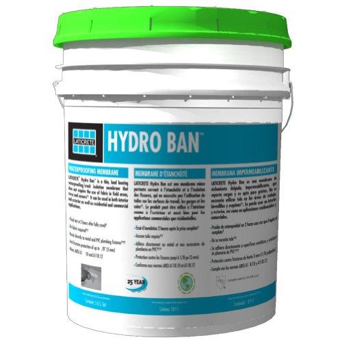 Laticrete 9255-0005-2 Hydro Ban Commercial Unit - 5 Gallon Pail, Green