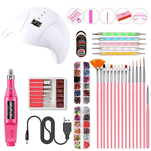 Dozenla Smart Nail Lamp USB Nail Pen Nail Accessories Set Sets & Kits