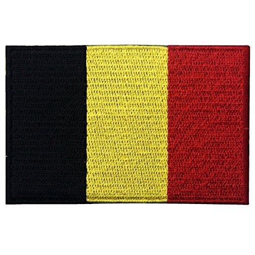 ZEGIN Belgien Flagge Gesticktes Belgisches Nationales Emblem Eisen auf Nähen Auf Flecken