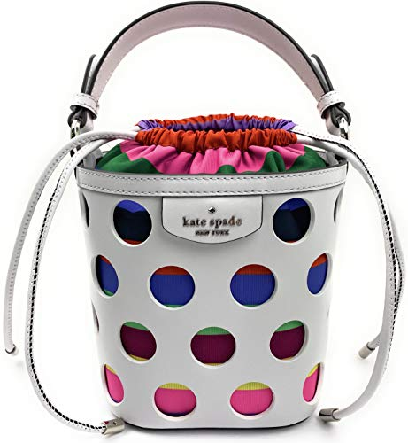 Kate Spade New York Small Drawstring Bucket Crossbody Shoulder Bag (Pippa...
