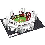 FOCO MLB Cincinnati Reds Unisex 3D Brxlz- STADIUM3D Brxlz- Stadium, Team Color, One Size
