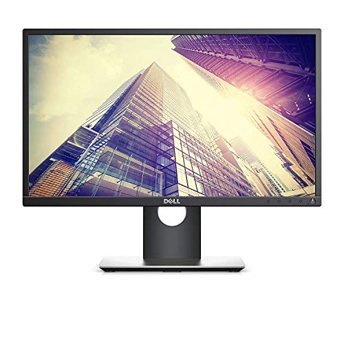 Dell P2217H 22 inches Widescreen LED IPS Display/Monitor, 1920x1080 Res, Response Time 6ms, 250 cd/m2, DisplayPort, HDMI & VGA (Renewed)