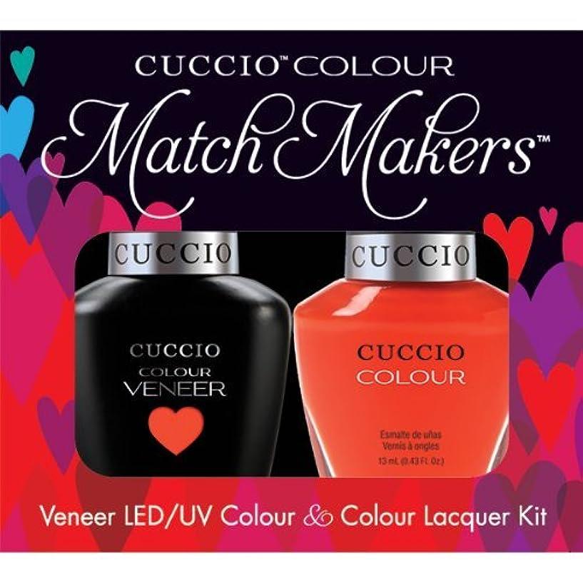 抽象テレビチャームCuccio MatchMakers Veneer & Lacquer - Shaking My Morocco - 0.43oz / 13ml Each