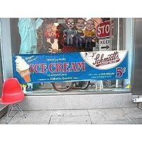 アメリカン バナー ICE CREAM プロモーションバナー アイスクリーム 大判バナー