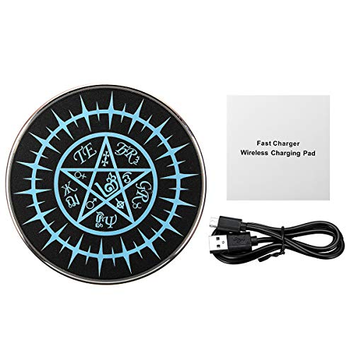 TuToy 10W Magic Array Wireless Qi Fast Charger Charger Charger Charger Für Universelle Telefone