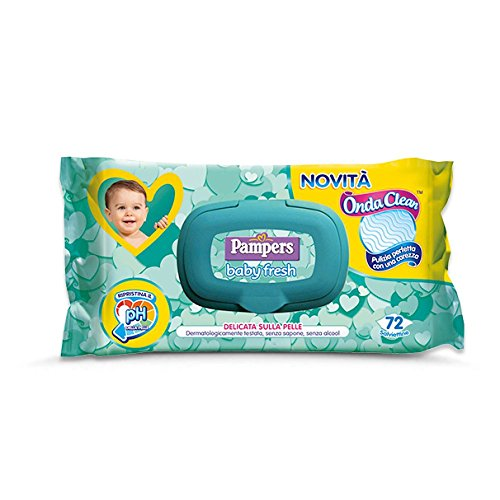 Pampers Vague de fraîcheur 3x72 Clean lingettes