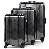 FERGÉ set di 3 valigie viaggio DIGIONE - bagaglio rigido dure leggera 3 pezzi valigetta 4...