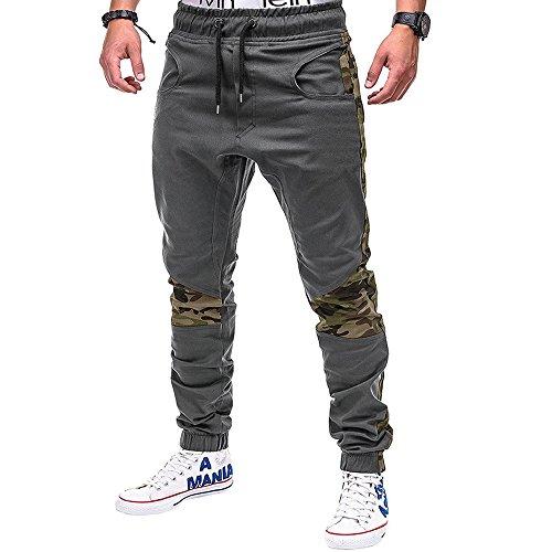 BBsmile Moda Pantalones Hombre Trabajo Elasticos Pantalones