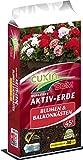 CUXIN DCM AKTIV-ERDE für Blumen- und Balkonkästen 45 l mit Wasserspeicher