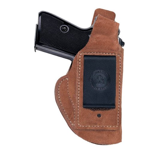 Galco Waistband Inside The Pant Holster for Glock 26, 27, 33 (Natural, Right-Hand)