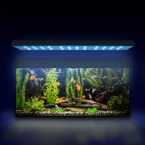 eSmart Germany Sweet Nemo 2 Aquariumbeleuchtung für Süßwasser   108W   7.200lm   Programmierbar   passive (lautlose) Kühlung   Aquarium Beleuchtung Aquarium Leuchte Aquarium Lampe