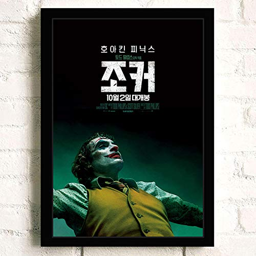 yaofale Sin Marco Joker Joaquin Phoenix Heath Ledger Movie s Wall Art Painting Print On Canvas Bar Room Poster Pictures Decoracion para el hogar 50x75cm