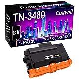 Cuxwill Cartuccia toner compatibile TN-3480, utilizzata per stampanti Brother DCP-L5500DN DCP-L5650DN, HL-L6200DWT HL-L6250DW HL-L6300DW HL-L6400DWT, MFC-L5900DW, MFC-L6700DW, MFC-L6750DW, MFC-L6900DW