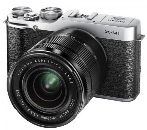 Fujifilm X-M1 KIT 16-50 EE TD - Cámara EVIL de 16.5 Mp (pantalla de 3