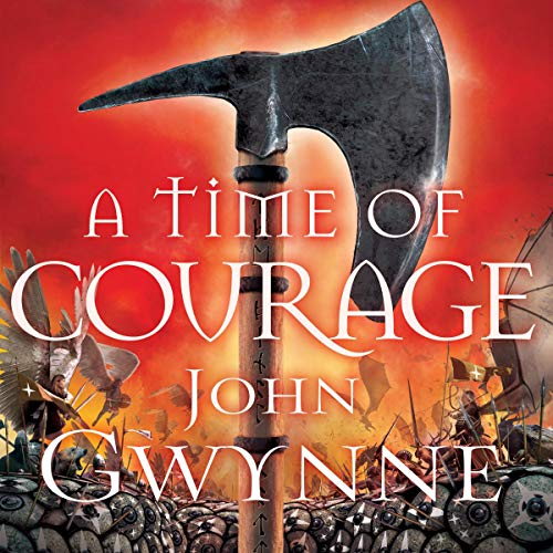 A Time of Courage audiobook cover art