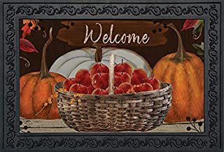 Briarwood Lane A Time to Gather Autumn Doormat Primitive Welcome Indoor/Outdoor 18