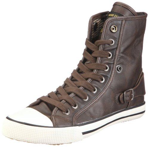 ESPRIT Benny Lu Bootie U12701, Unisex - Kinder, Sneaker, Braun (brown 239), EU 35