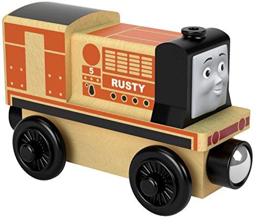 Der Zug Thomas fhm35–Lokomotive Rusty–Zug aus Holz Spielzeug