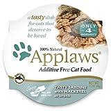 Applaws Cat Pot 2.1oz Sardine with Mackerel - 18 Pack