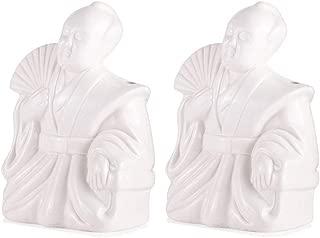 Samurai Ceramic Tiki Mug - 12 oz - Set of 2