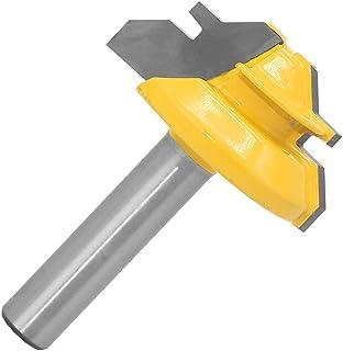 Gasea - Fresa para ángulo y ranuras 8 mm de diámetro diámetro de 34 mm para carpintería y fresa para madera herramienta...