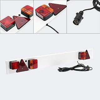 Aanhangwagen lichtbalk 7-polig, breedte 137 cm & 6 m kabel, met o.a. achterlicht, remlicht & knipperlicht