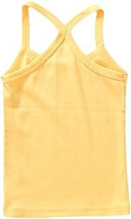 COMVIP Kids Cotton Summer Breathable Undershirt Sleeveless Tank Tops